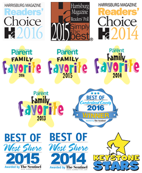 Simply The Best Child Care Center, Family Favorites Day Care, Best of West Shore Childcare, Keystone Stars Childcare Facility
