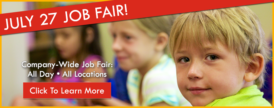 Tender Years Job Fair: July 27 - Child Care Jobs & Early Education Positions in Camp Hill, Hershey & Mechanicsburg