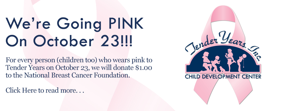 Tender Years Pink Out 2015