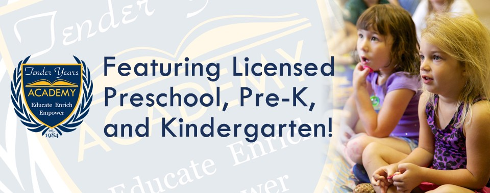 Tender Years Academy: Preschool, Pre-K, and Kindergarten in Mechanicsburg