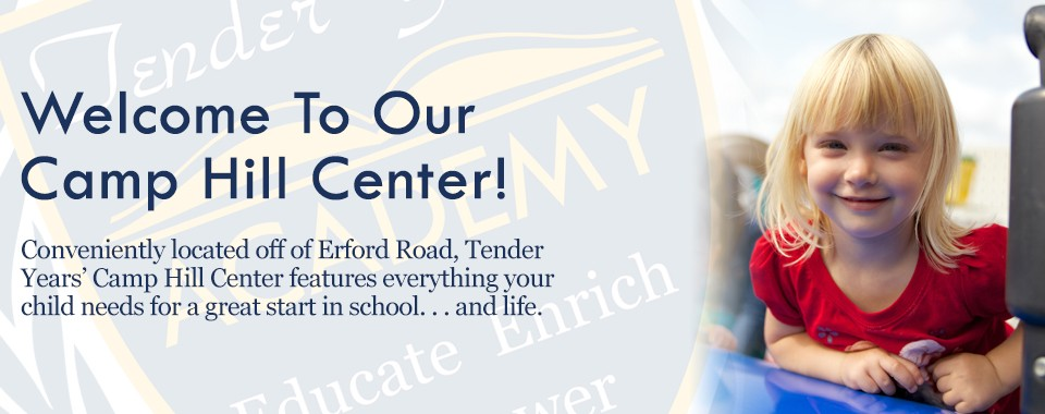 Child Care in Camp Hill, PA: Tender Years Child Development Center