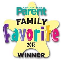 Central Penn Parent Family Favorites Winner 2017: Best Childcare Center, Best Preschool, Best Summer Camp