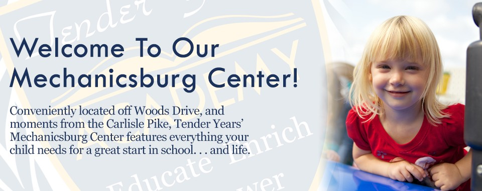 Child Care in Mechanicsburg, PA: Tender Years Child Development Center