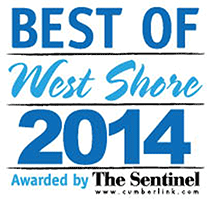 Best of the West Shore Awarded by The Sentinel