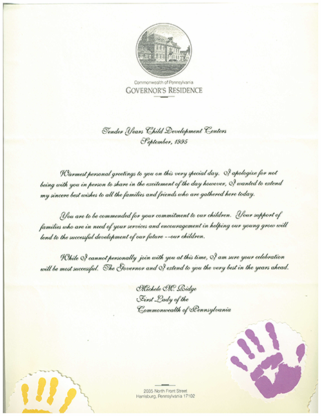 Governor Letter T