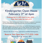 Hershey Kindergarten Open House