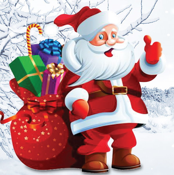 Photos With Santa & Mrs. Claus!