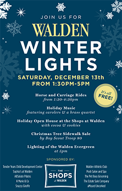Walden Winter Lights 2014