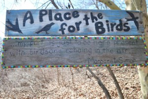Tender Years Kindergarten Class Exhibits Bird Houses at Art In The Wild event