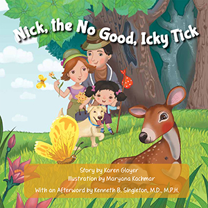 Nick The No Good Icky Tick Book Signing