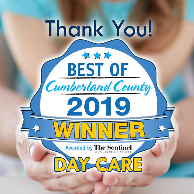 Tender Years Wins 2019 Best of Cumberland County Best Day Care!