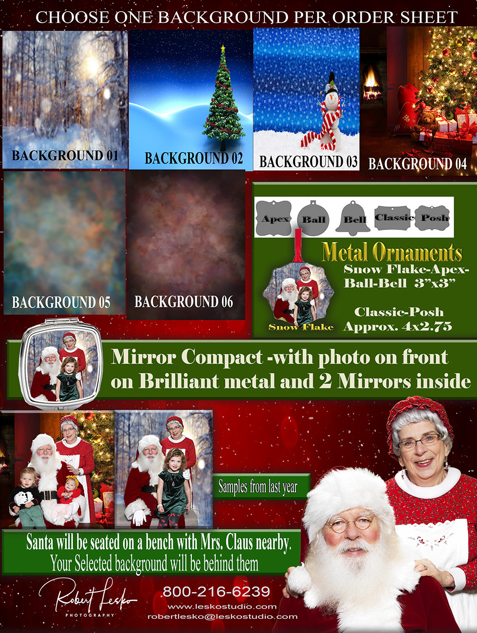 Santa Photo Details