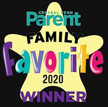 Central Penn Parent Family Favorites Winner 2020: Best Childcare Center, Best Preschool, Best Summer Camp